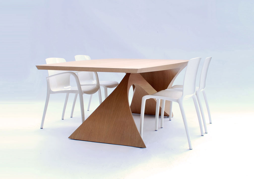 Form follows function table daan mulder interior for Table form design